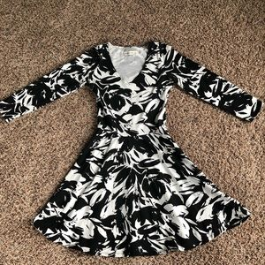 Abercrombie Fitch Dress S black white